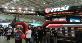 MSI computex booth 2017